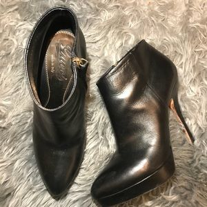 Gucci Platform Ankle Booties